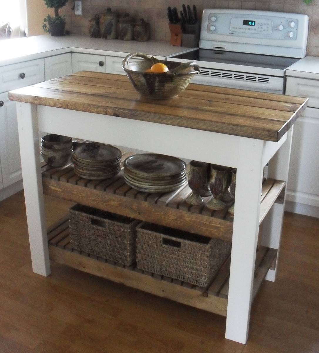 Portable Center Kitchen Islands Ana White | Kitchen Island - Diy Projects