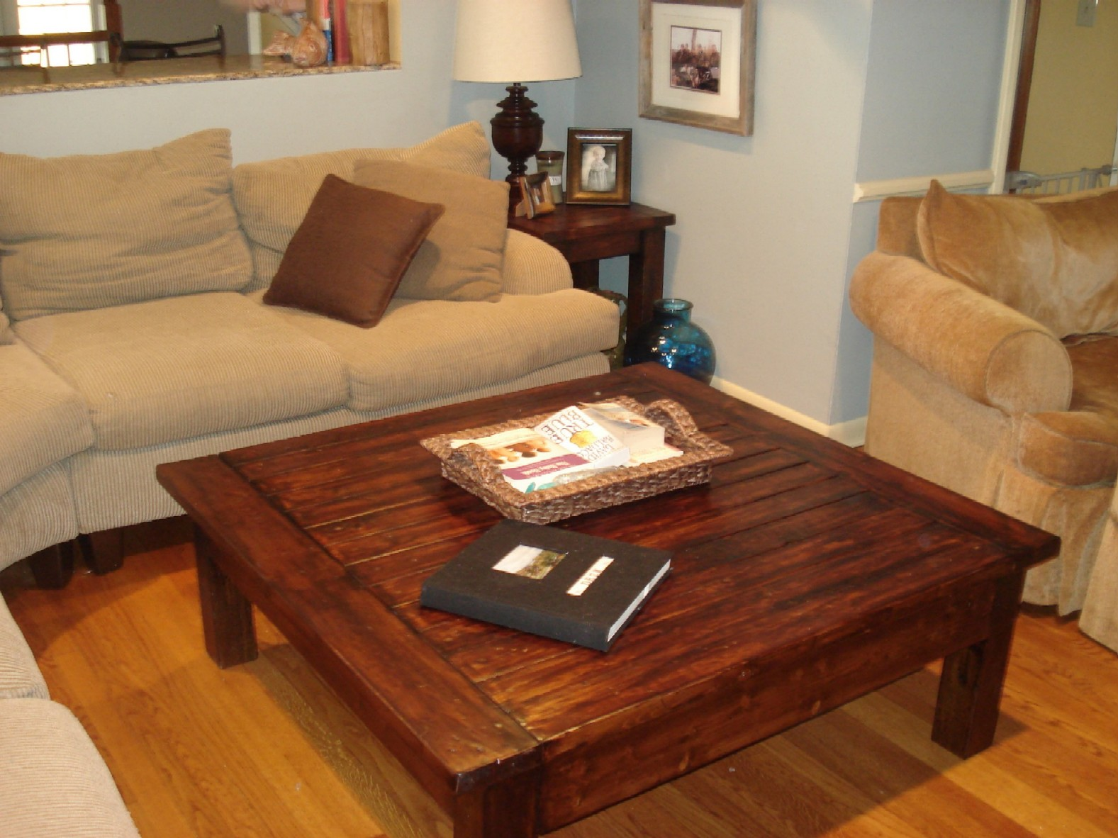 Square Coffee Table Plans Ana White Bigger Tryde Coffee Table Diy Projects