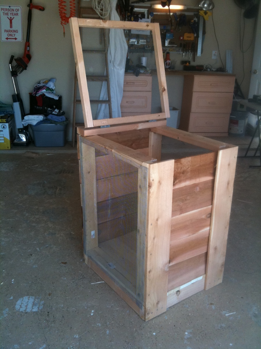 Diy Compost Bin Plans Compost Bin Ana White Woodworking Projects