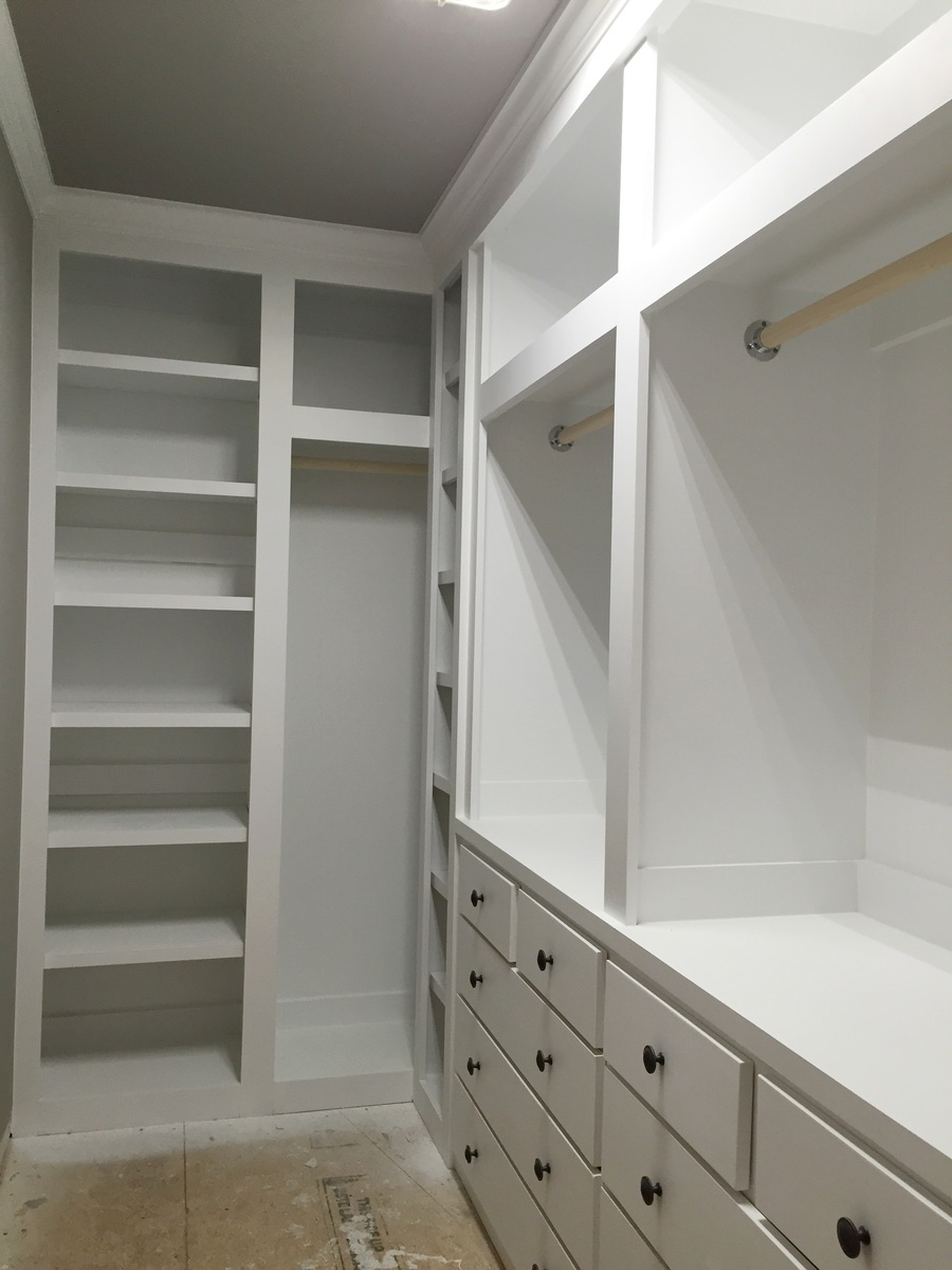 Diy Closet Built Ins Ana White Built In Closet Diy Projects
