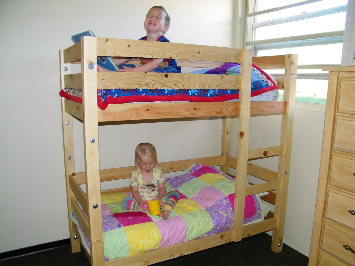 Double Loft Bed For Kids Ana White Toddler Bunk Beds Diy Projects