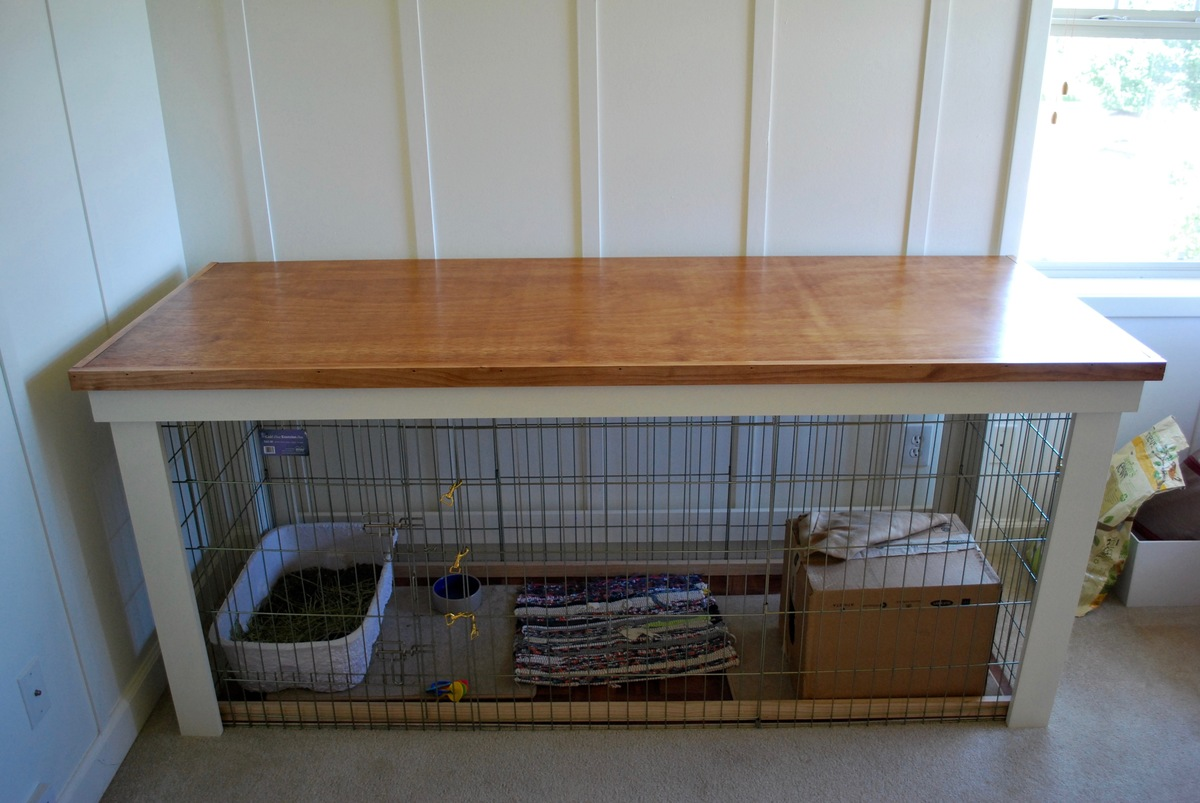 Diy Cage For Rabbit Ana White Sewing Cutting Table Over Rabbit Cage Diy