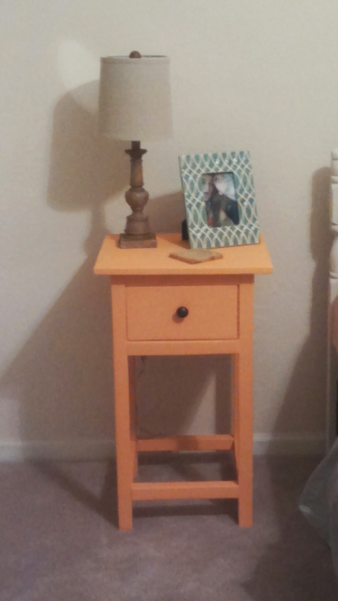 Diy Bedside Table Ana White Daughter 39s Mini Farmhouse Bedside Table Plans
