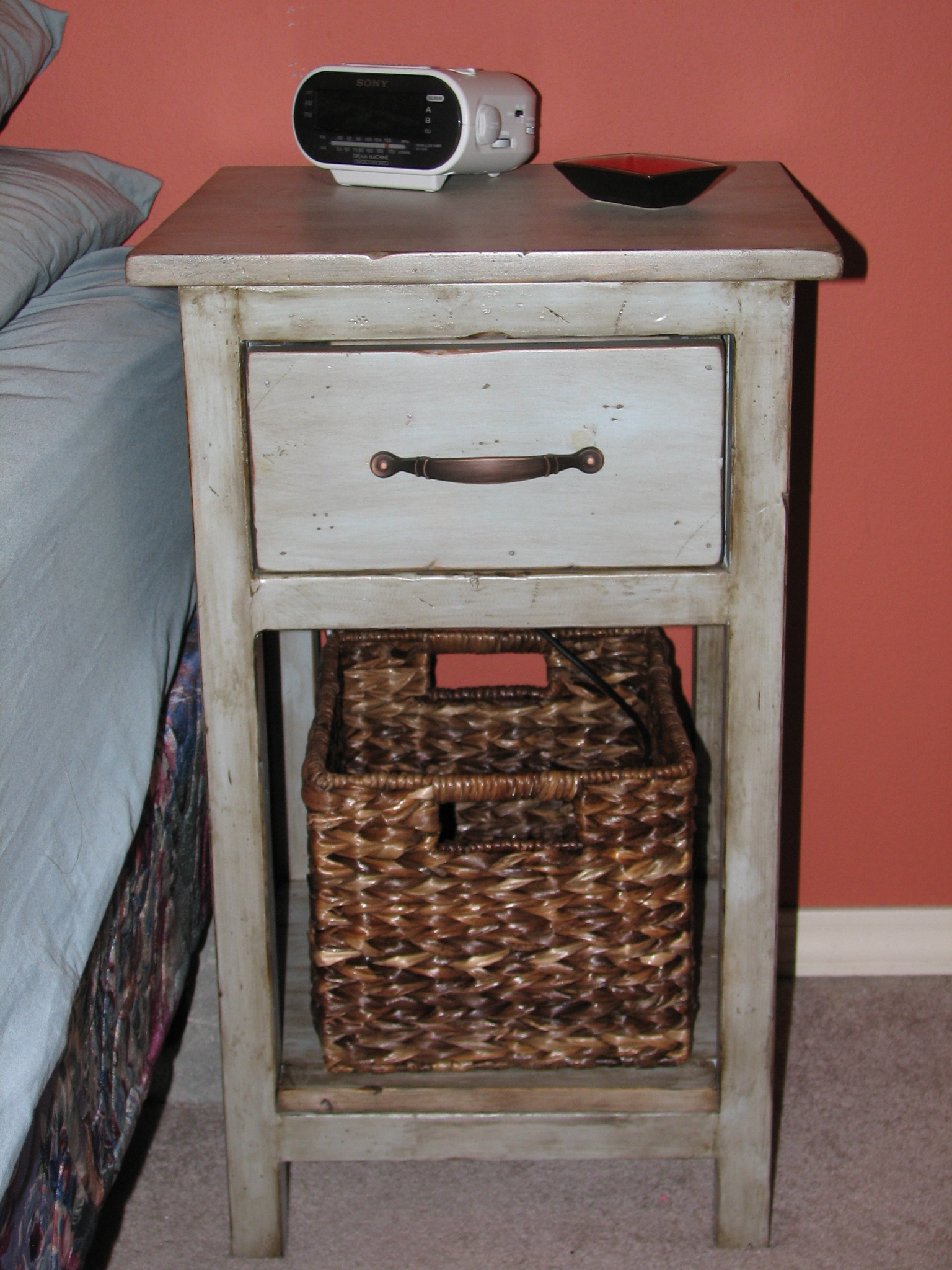 Bedside Table Small Ana White Mini Farmhouse Bedside Table Diy Projects