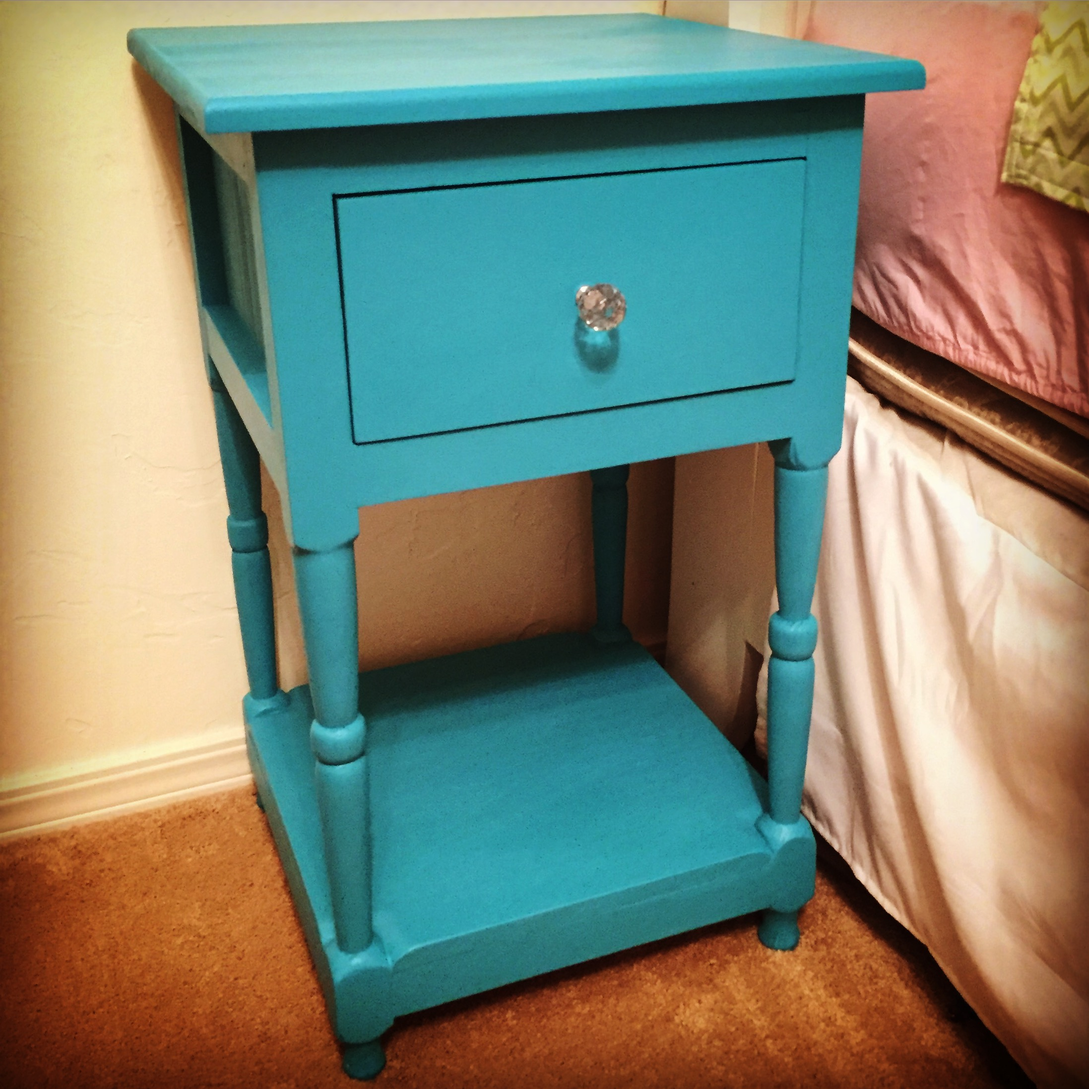 Diy Bedside Table Ana White Mini Farmhouse Bedside Table Diy Projects