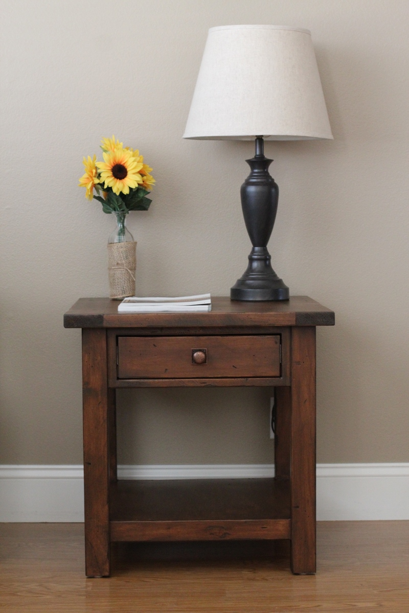 Diy End Tables Plans Ana White Benchwright End Table Diy Projects