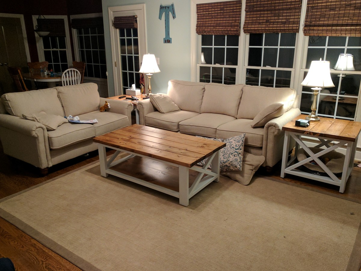 Couchtisch S Form Ana White | Rustic X Coffee Table - Diy Projects
