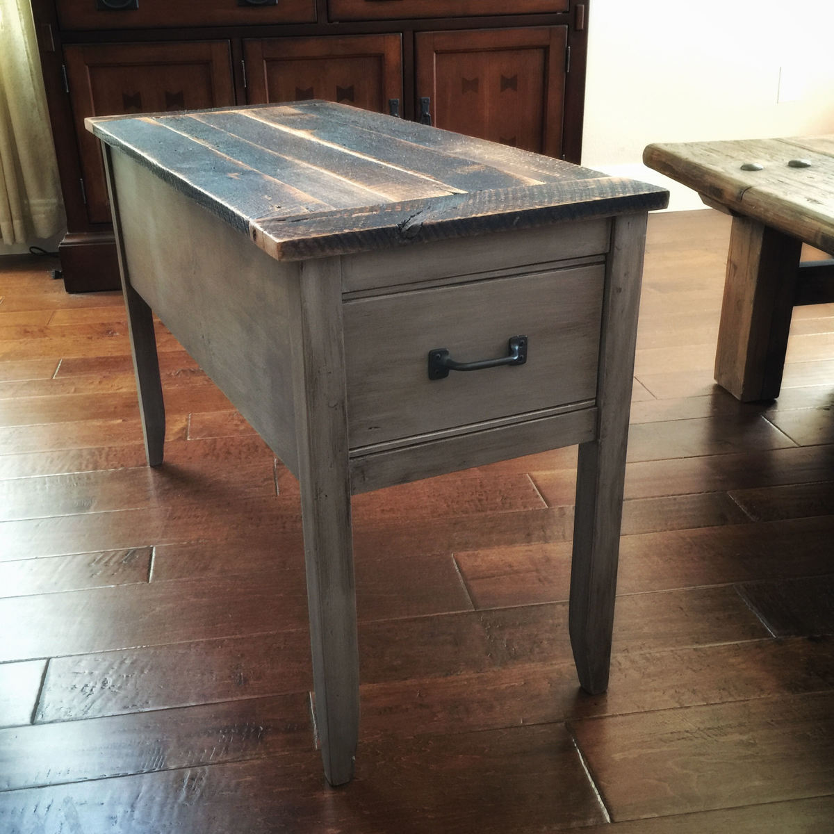 Diy End Tables Plans Ana White Barnwood Narrow Cottage End Table Diy Projects