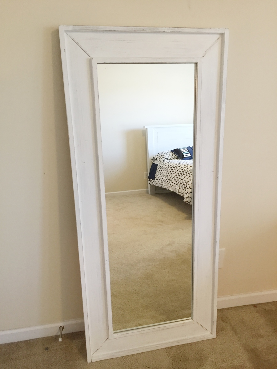 Full Length Mirror Used Ana White Full Length Mirror Diy Projects