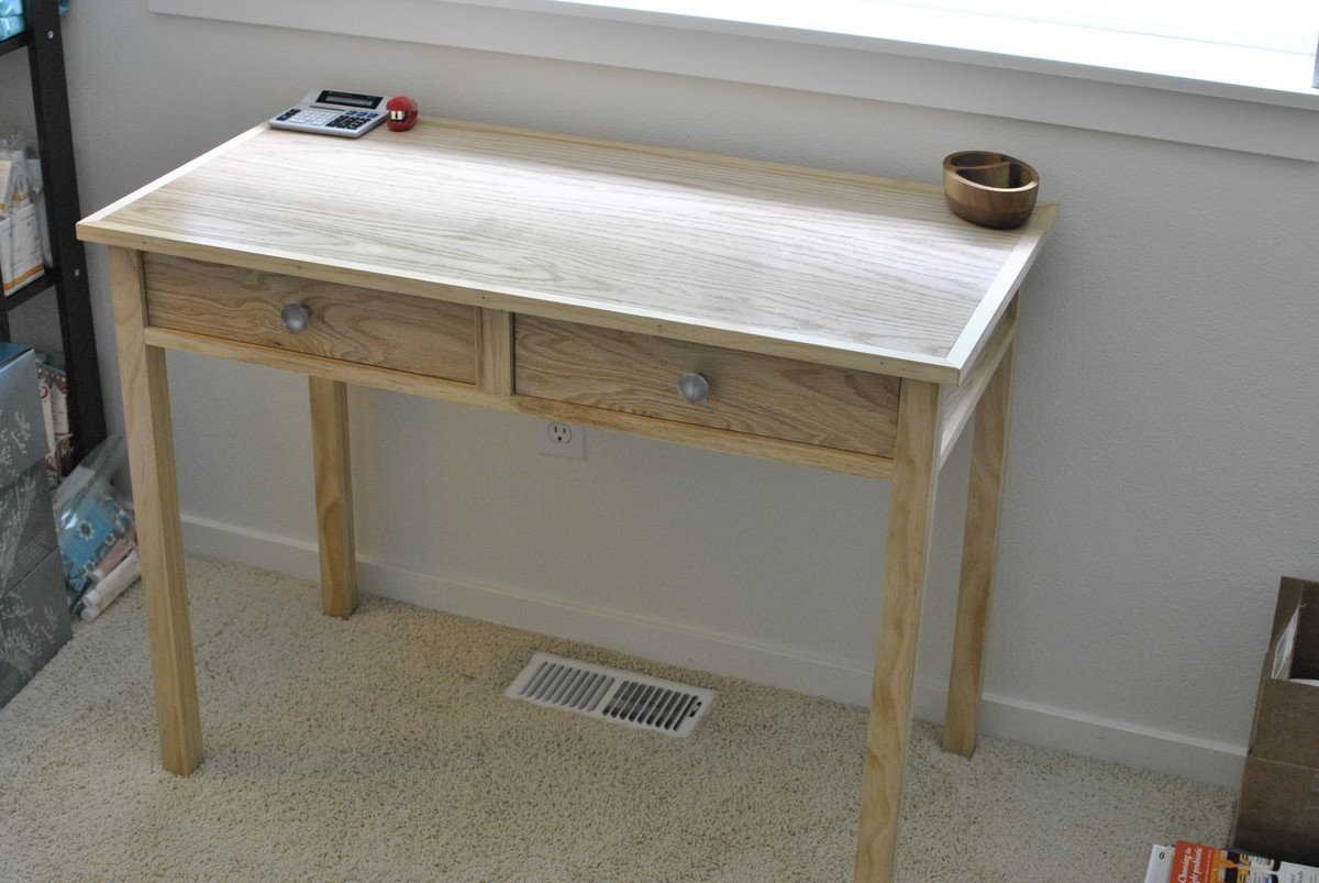 Writing Table Plans Ana White Writing Desk For My Wife Diy Projects