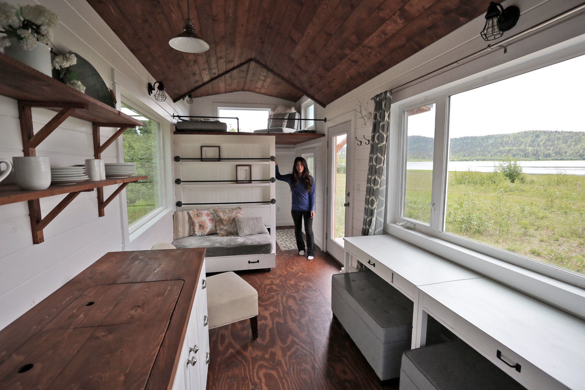 Tiny House With Garage Plans Quartz Tiny House Free Tiny House Plans Ana White