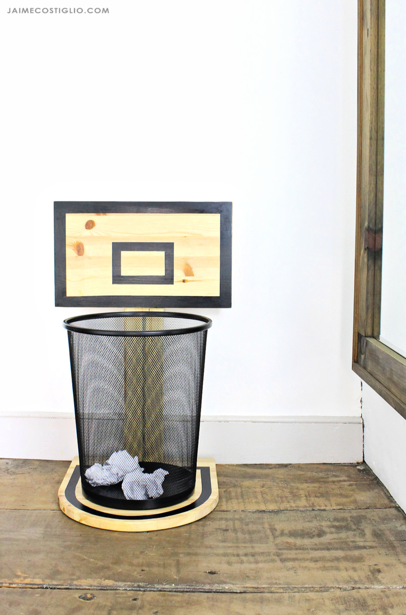 Fun Trash Can Basketball Hoop Trash Can Ana White