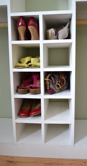 Ana White Master Closet System Shoe Cubbies Diy Projects