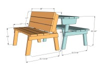 PDF DIY Kitchen Table Bench Plans Free Download king size ...