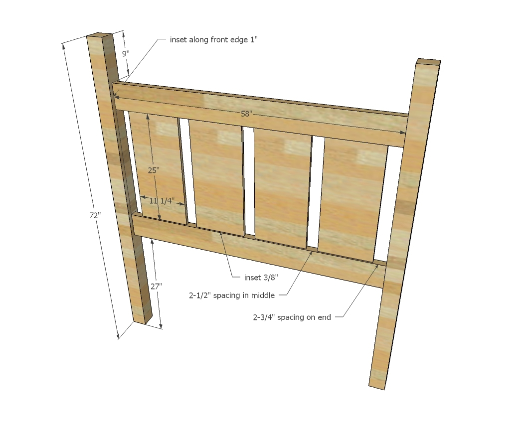 How To Build A Four Poster Bed Ana White Slatted Four Post Farmhouse Bed Queen Diy