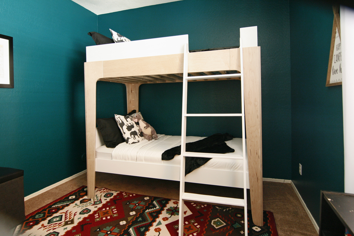 Kids Modern Bunk Bed Ana White Modern Bunk Beds Diy Projects