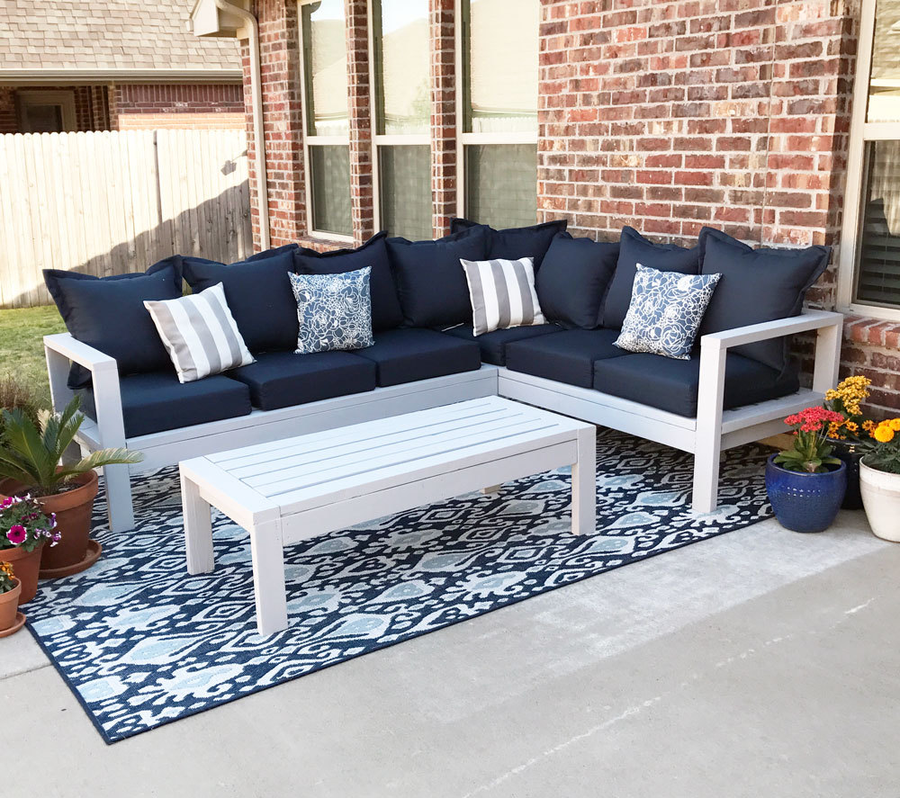 Outdoor Couch Ana White 2x4 Outdoor Sofa Diy Projects