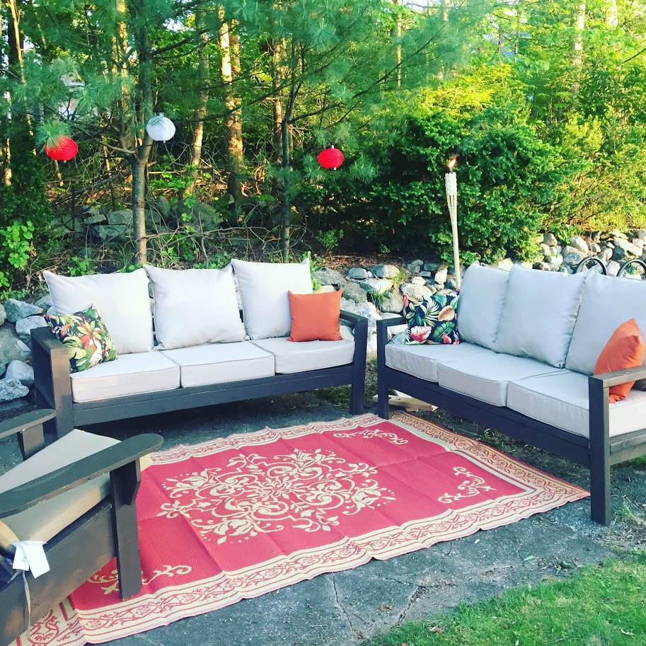 Couches 4 2 X 4 Outdoor Couches Ana White