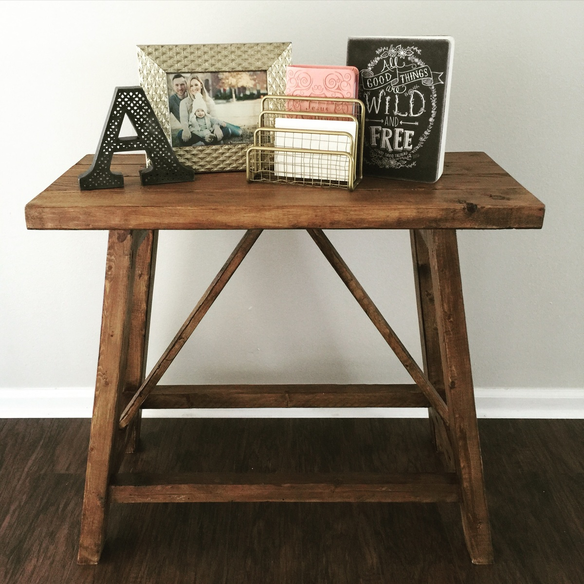 Building An End Table Pottery Barn Inspired Truss End Tables Ana White