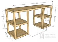 Woodwork Desk Building Plans PDF Plans