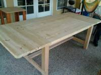 Wooden How To Build A Kitchen Table Plans Blueprints | freepdf