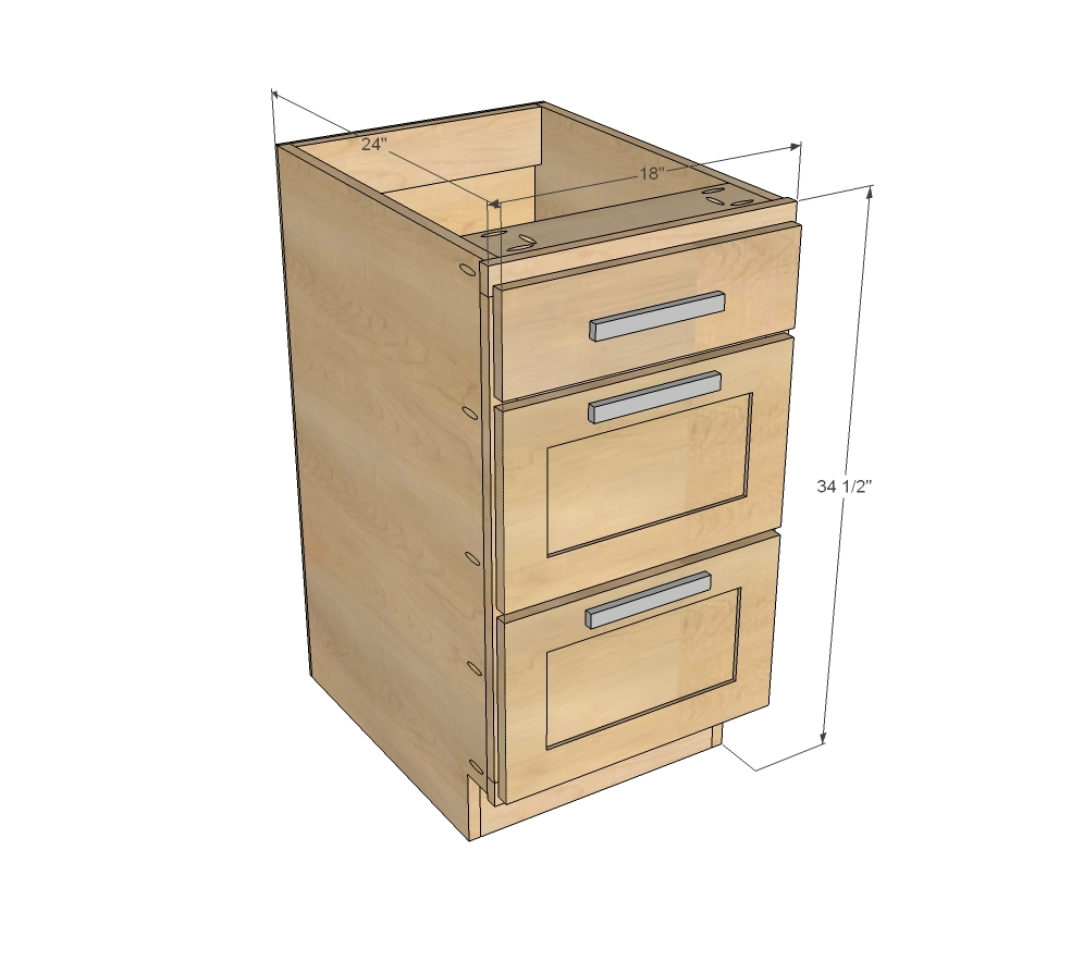 Kitchen Cabinet Drawers 18