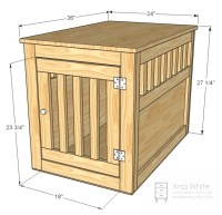PDF DIY How To Make A Wooden Table Dog Crate Download ...