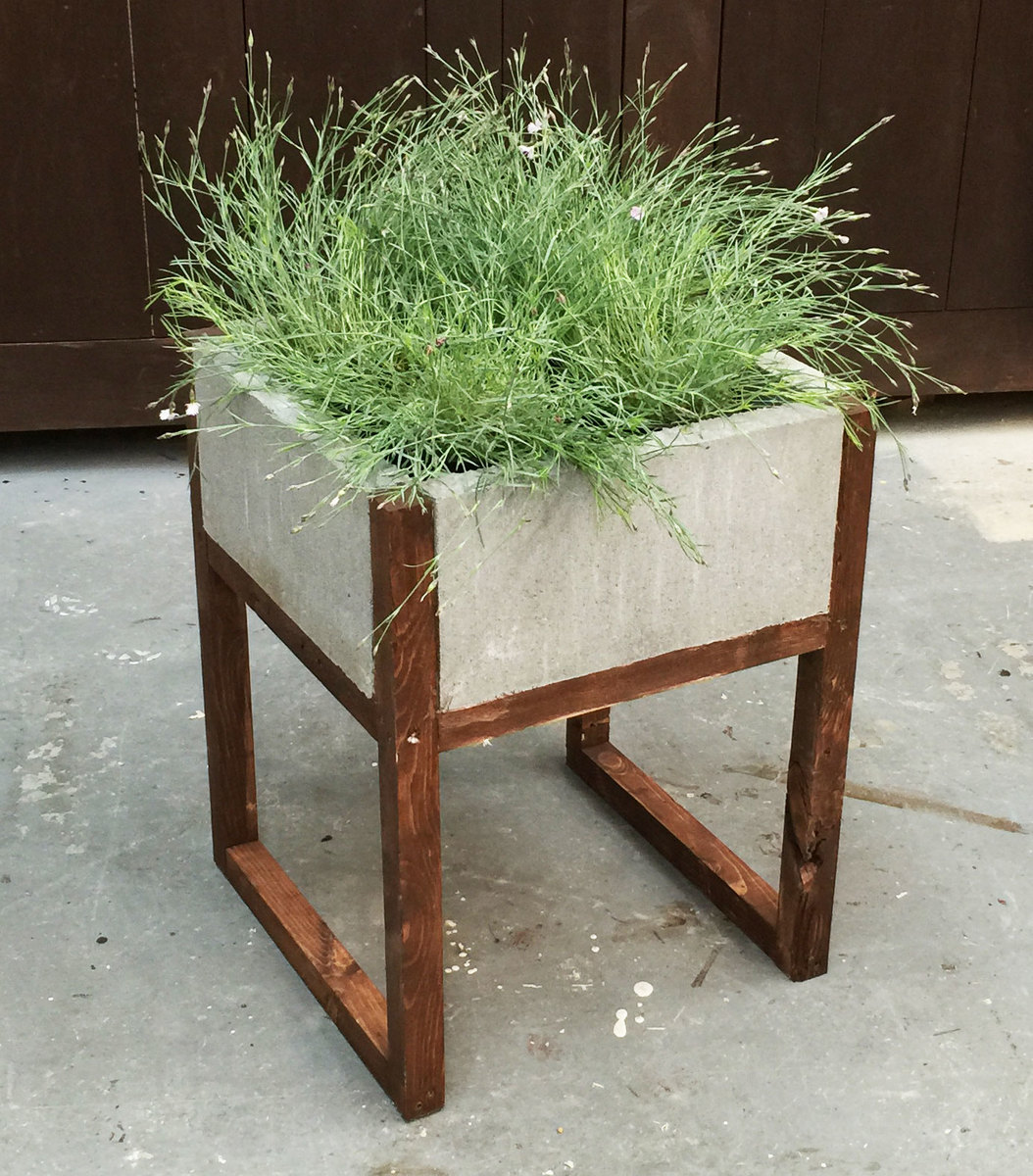 Modern Cement Planters Ana White Home Depot Dih Workshop Modern Paver Planter