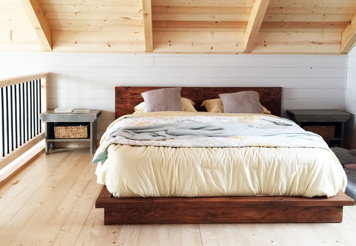 Examplary Drawers Platform Bed King Walmart Ana Rustic Platform Bed Diy Projects Platform Bed King houzz-02 Platform Bed King