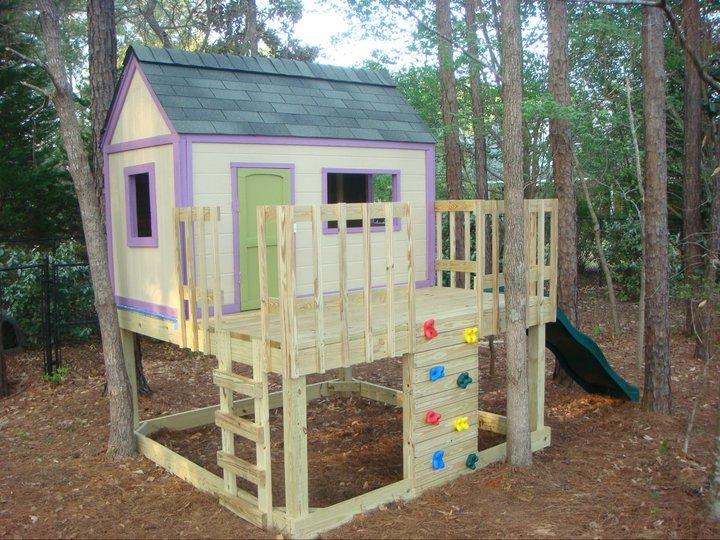 Построить детский домик на даче