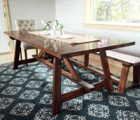 Ana White | 2x4 Truss Table for Alaska Lake Cabin - DIY ...