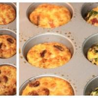 Desayuno de Campeones - Muffins falsos de huevo