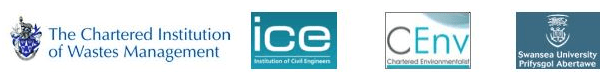 Image shows logos of professional bodies: Steve Last qualifications and institutions banner