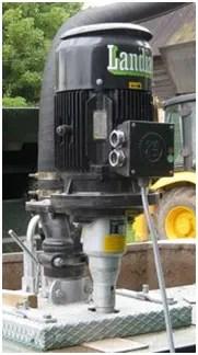 chopper-pump Landia motor