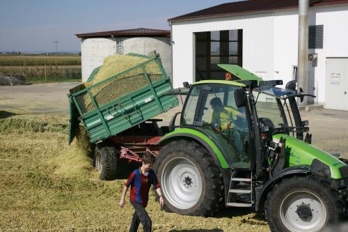The biogas powered tractor of the future