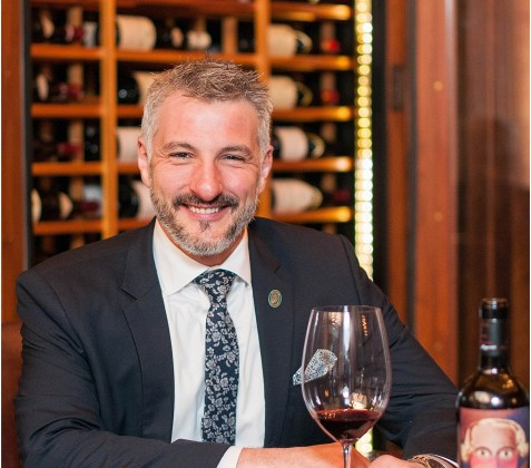 Sommelier and Wine Director David Metz at Michelin Star restaurant Plume in a luxury hotel The Jefferson Hotel 8