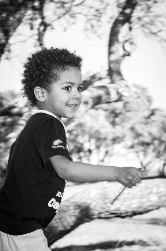 Young black boy professional portrait by Anais Chaine Auckland photographer in Shakespeare Bay, New Zealand