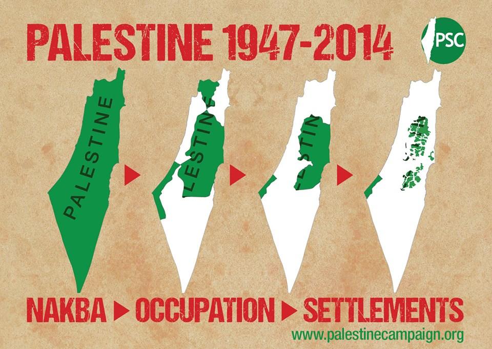 فلسطين .. من البداية وحتى اليوم
