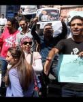وقفة أمام نقابة الصحفيين تضامنا مع أحمد أبو دراع