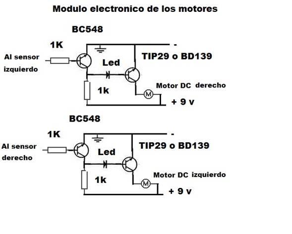 led with sensor diagrama de cableado