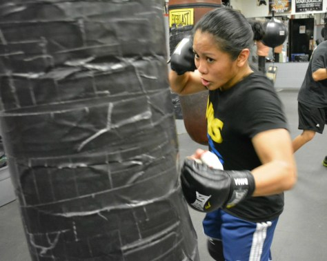 AJ left hook 1 1024x818 Rappler.com: Ana Julaton and her MMA journey by Nissi Icasiano