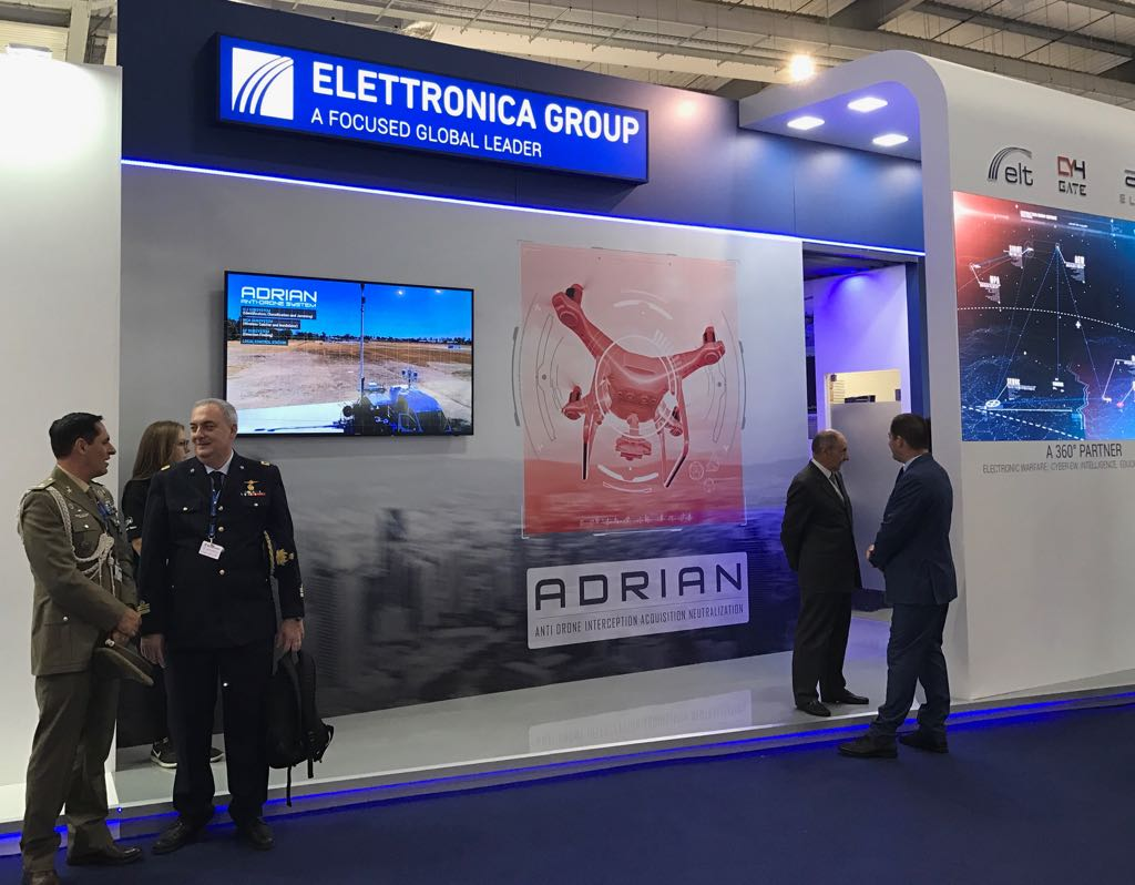 Elettronica Spa Roma Elettronica Group Al Salone Aerospaziale Di Farnborough Analisi