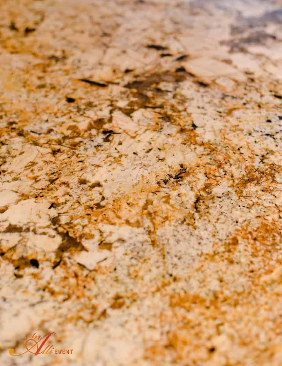 Ugly Granite Countertops How To Clean Polish And Seal Granite Countertops An Alli Event