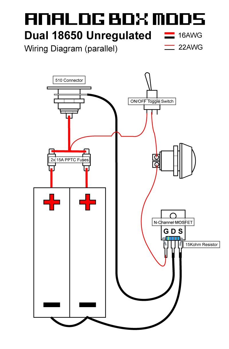 regulated box mod wiring diagram