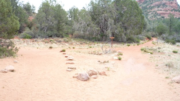 Sedona Vortex Trail Split