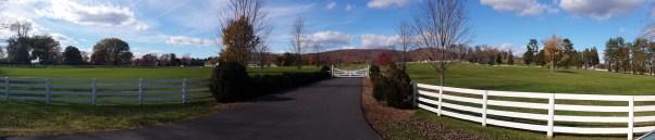 Keswick Farm panorama