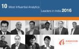 Top analytics leaders 2016