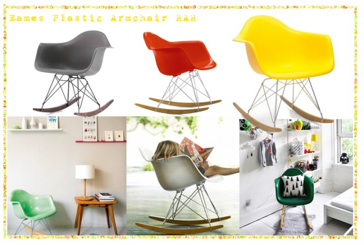 SILLAS EAMES PLASCTIC RAR