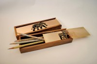 Wood Pencil Box Plan PDF Woodworking