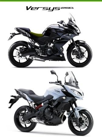 Kawasaki Versys 250, Sport Touring Kawasaki Ini Hadir Di